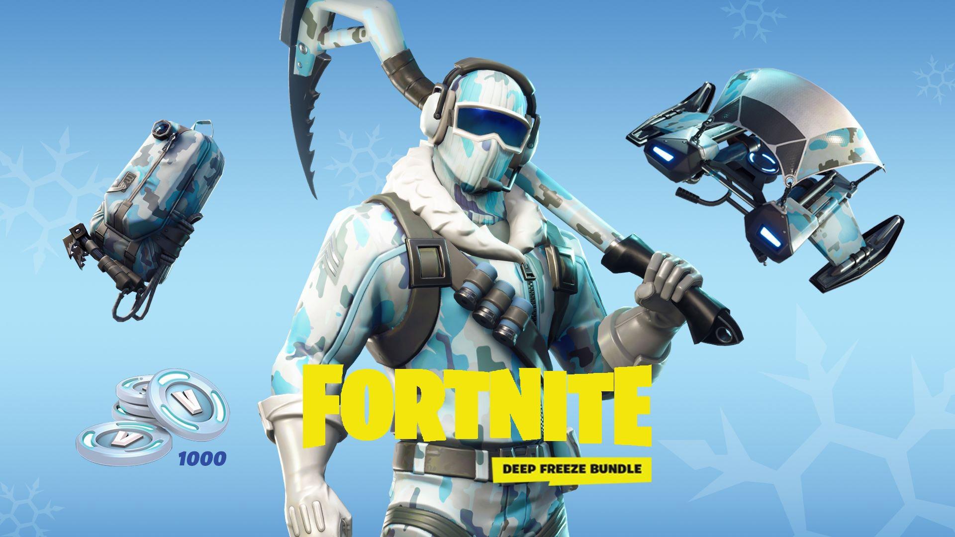 خرید بازی Fortnite Deep Freeze Bundle